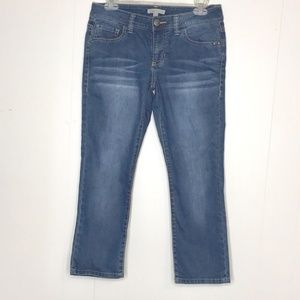 Cabi Johnny Denim Jeans-Size 2-Cropped Ankle